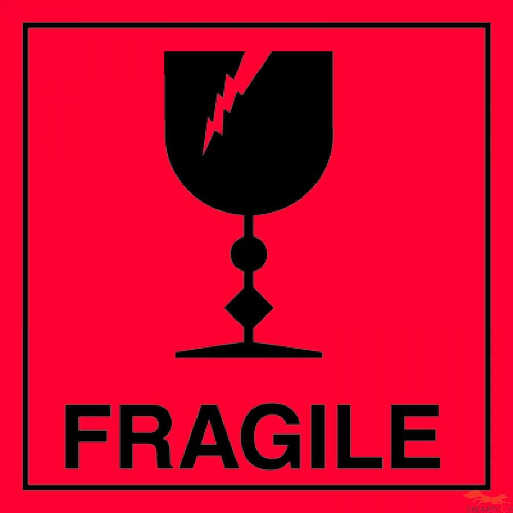 Fragile Items Label Glass Box