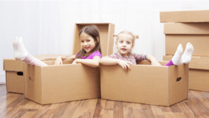 large-sized boxes for house removals