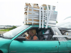 Furniture removal - People who Make Wrong Use of Packing Supplies